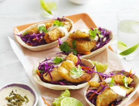Easy Fish Tacos Tortillas
