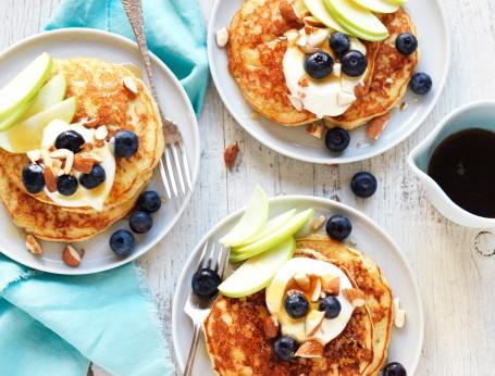 Best gluten free pancake mix recipe. How to make fluffy gluten free pancakes recipe