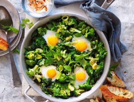 Green Shakshuka recipe