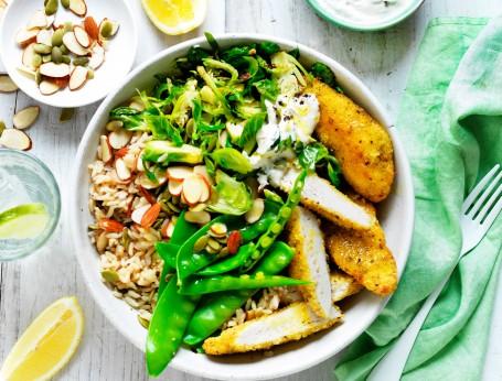 Lemon and Pepper Chicken Nourish Bowls