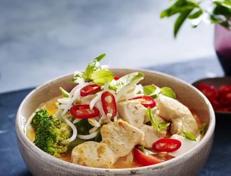 Tofu and Chicken Laksa