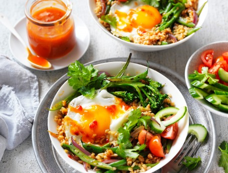 Quick Vegetarian Nasi Goreng Fried Rice