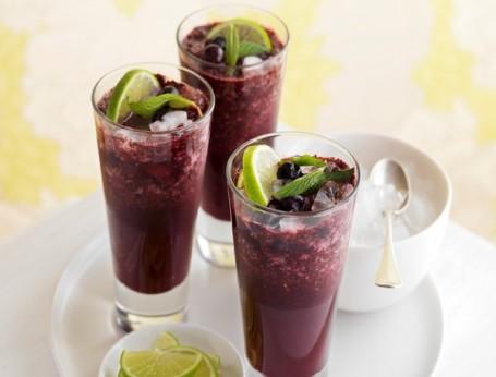 Blueberry, Cranberry & Mint Crush