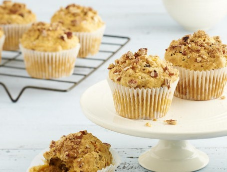 Carrot and Pecan Muffins