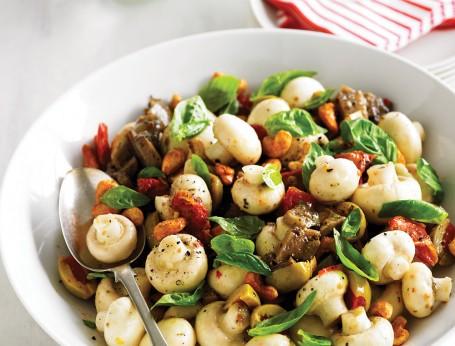 Mushroom & Antipasto Salad