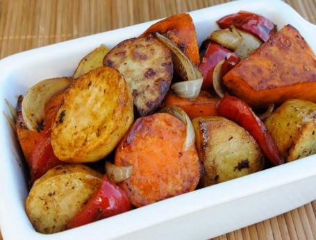 Balsamic Glazed Roasted Vegetables