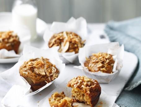 Pear and Coconut Muffin Recipe