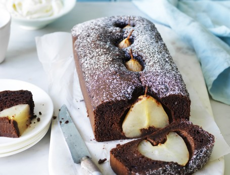 Chocolate Pear Cake Recipe