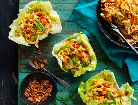 Chicken Singapore Noodles Recipe