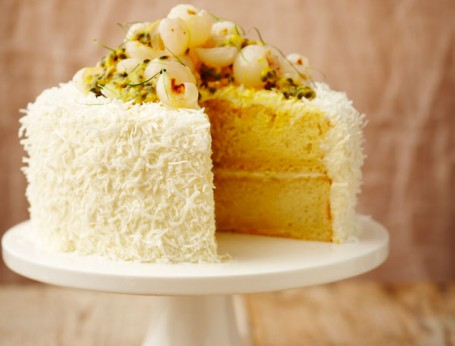 Impressive birthday and celebratory coconut cake recipe