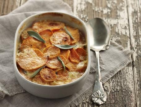 Sweet Potato and Sage Bake Recipe