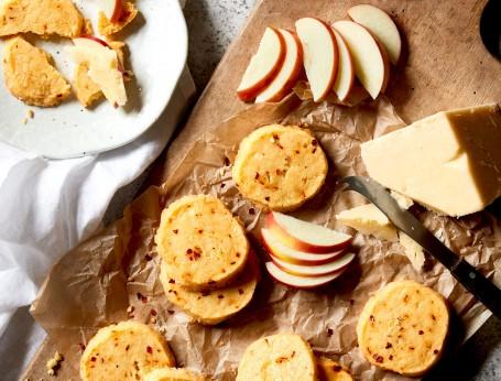 cheese and chilli shortbread recipe