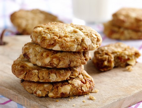 Apricot, White Chocolate and Coconut Cookie recipe