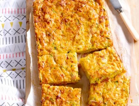 Ham, Cheese and Veggie Bake Recipe