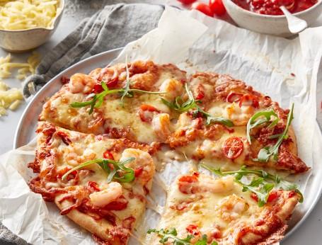 Chilli Prawn Pizza recipe