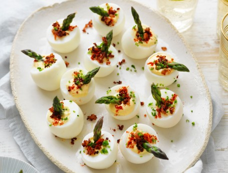 Modern devilled egg recipe