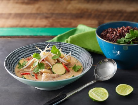 Thai Green Peanut and Fish Curry