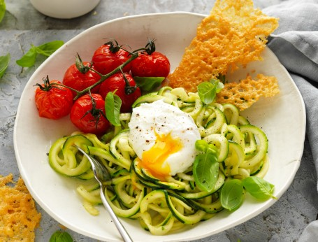 Zoodle and Egg Salad recipes