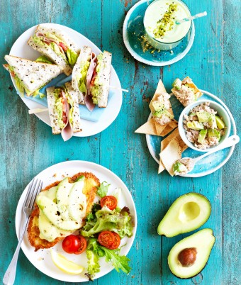 1 avocado 4 ways