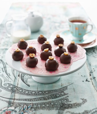 Chocolate and Hazelnut Truffles
