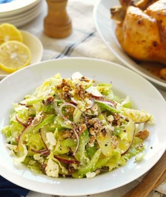 Apple walnut salad recipe