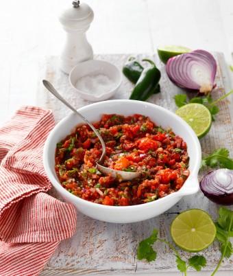 Mexican Tomato Salsa Recipe
