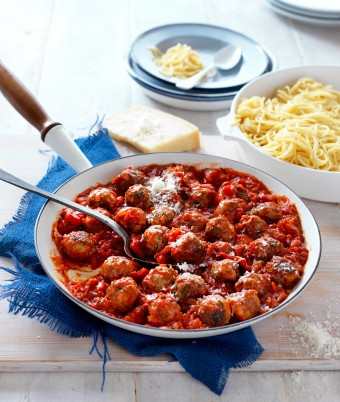 Meatballs In Tomato Sauce