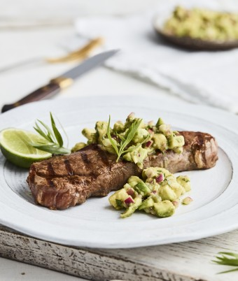 Steak Bearnie Avo-Style
