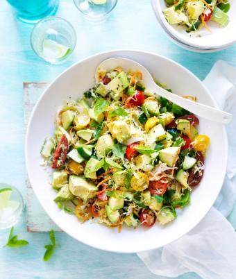 Avocado Cabbage Salad