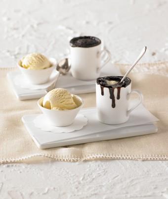 Fudge Chocolate Pots