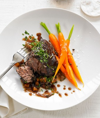 Braised Beef Cheeks in Red Wine