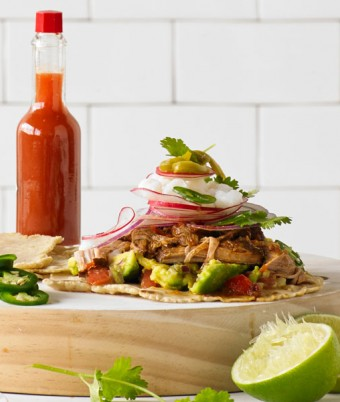 Pulled Pork Tortillas recipe using Breville Fast Slow cooker