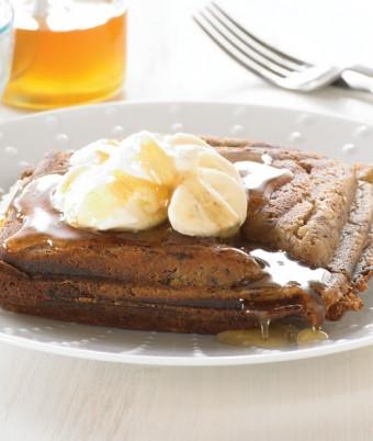 Banana and Ricotta Honey Cream Jaffle
