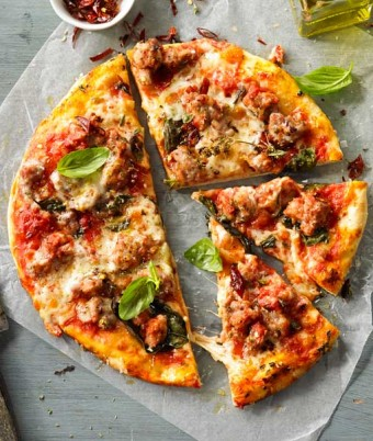 Italian Pork & Fennel Sausage Pizza