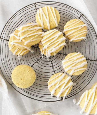 Easy Lemon Shortbread Recipe