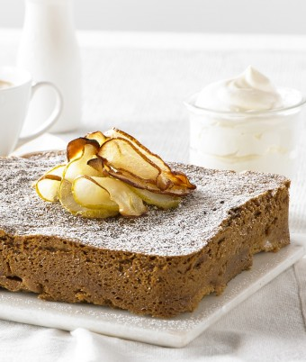 Pear Coffee Cake
