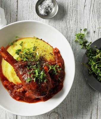 Lamb Shanks with Ragu recipe by Breville