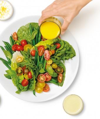 Whole Orange Dijon Vinaigrette- An quick snd easy salad dressing