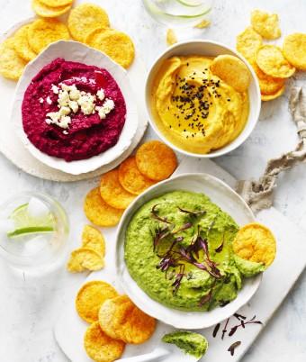 Healthy Hummus Rainbow - Hummus Base Recipe