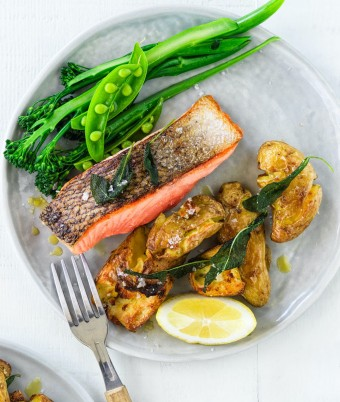 Crispy Skin Salmon recipe