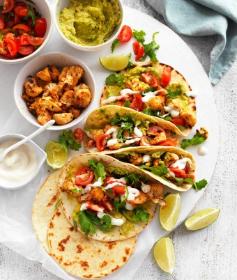 Spiced vegan Cauliflower Tacos recipe