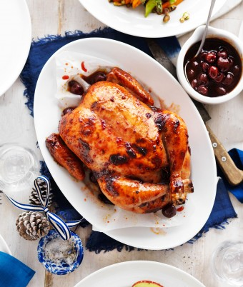Simple roast chicken recipe for Christmas