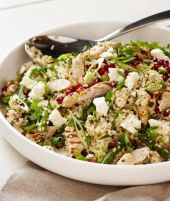 Quinoa, Chicken and Feta Salad
