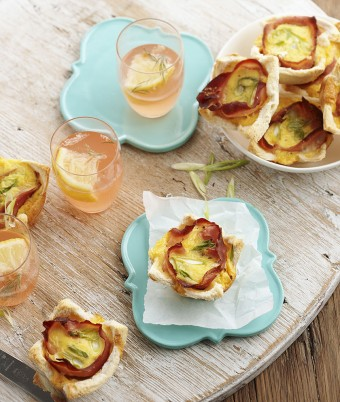 Cheesy Egg and Ham Cups
