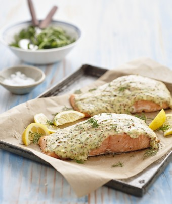 Dill and Lemon Baked Salmon