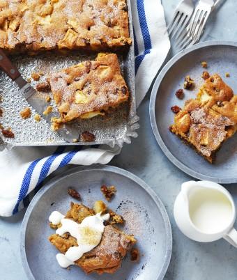 The Best Apple Slice recipe from Devondale Farmers Cookbook