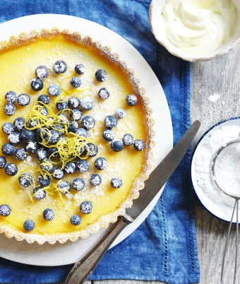 How to make classic Lemon Tart with homemade pastry - Devondale Farmers Cookbook