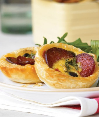 DON Salami Antipasti Goats Cheese Tartlets