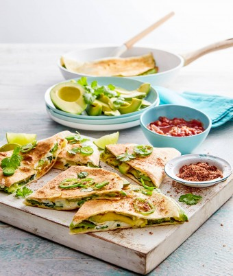 Cheese Quesadillas recipe