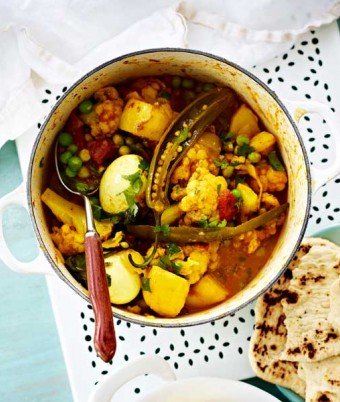 Easy vegetarian egg curry recipe